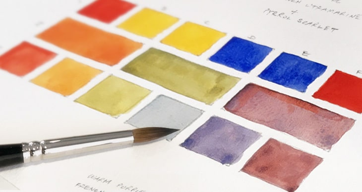 recommended watercolor palette colors