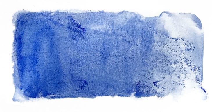 watercolor granulation