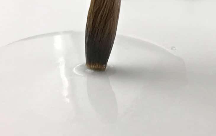 paper wetness