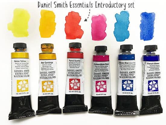 daniel smith essentials introductory set