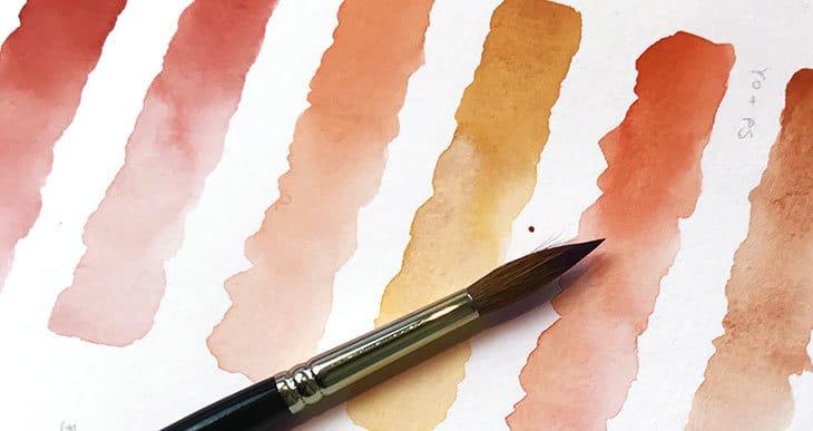 watercolor skin tone