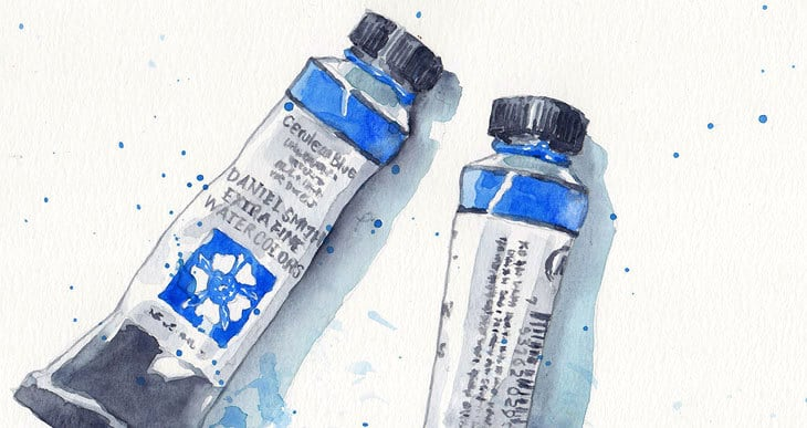 how to read watercolor labels