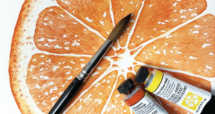 3 Easy Ways to Paint Oranges in Watercolor – A Beginners