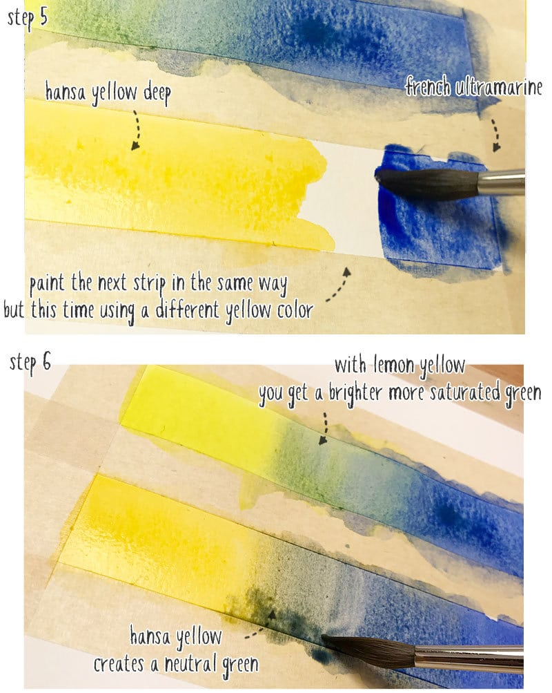 learning watercolor mixing part 2