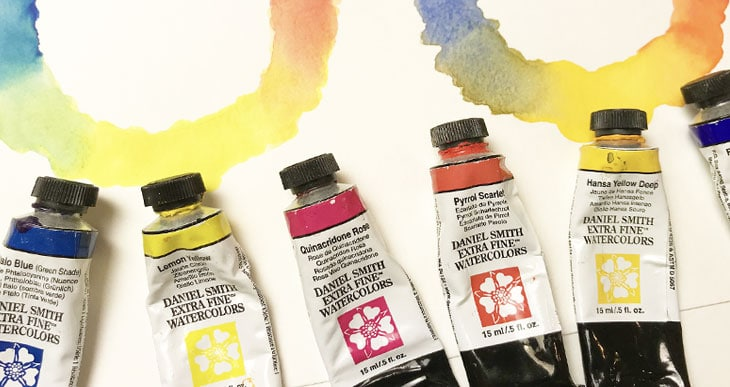 watercolor limited palette
