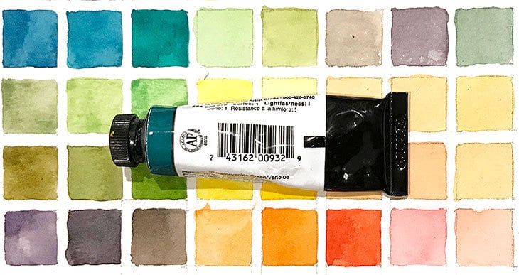 are watercolors toxic