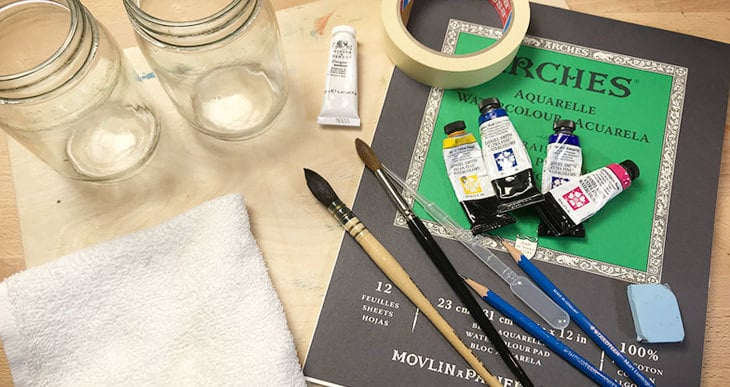 what supplies do I need for watercolors