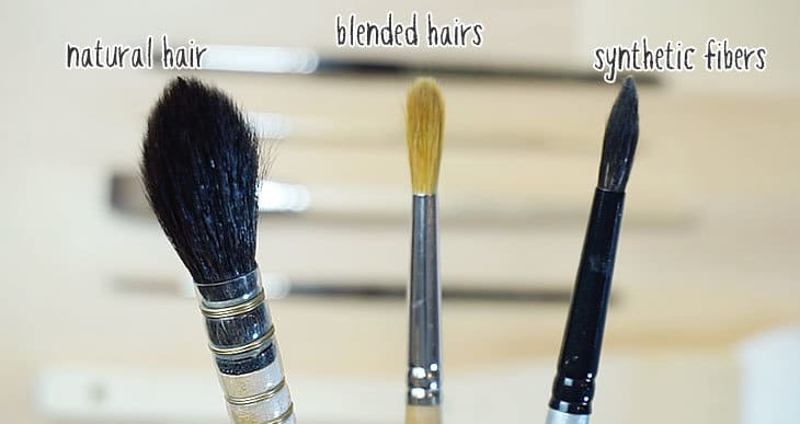 what type of brush for watercolors ?